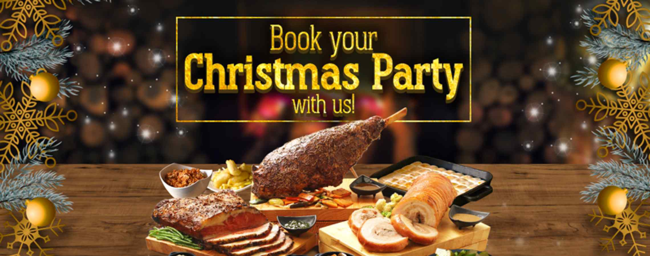 Book with us this Christmas!